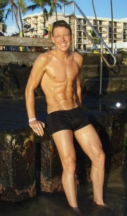 Jonas Colting i Hawaii