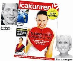"""""""Storm kring ICA-kurirens hjärtbilaga"""""""
