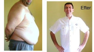 -77 kilo på sju månader med LCHF