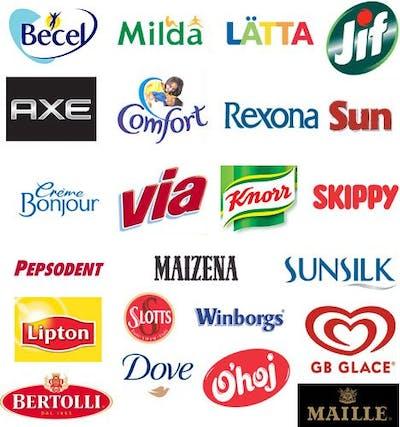 Unilevers varumärken