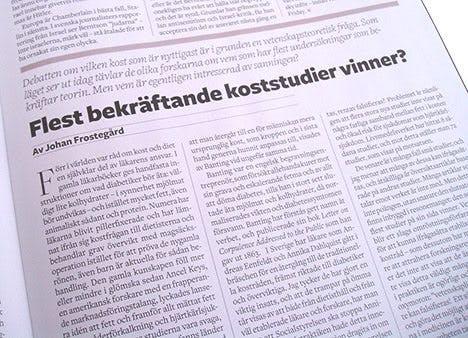 Flest bekräftade koststudier vinner? av Johan Frostegård