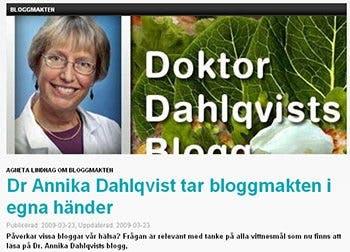 """Om """"bloggmakt"""""""