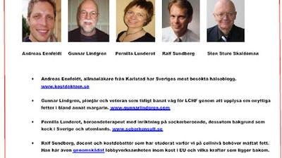 LCHF-Konferens i Ystad lördag 25/4