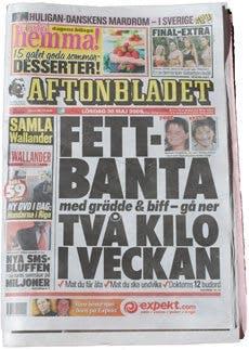 Fettbantning i Aftonbladet