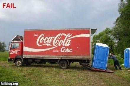 Coca Cola Fail