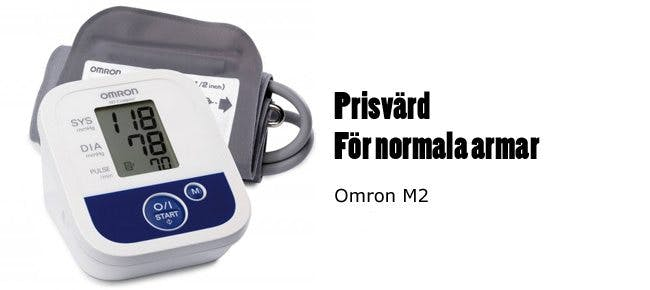 Omron M2 blodtrycksmätare