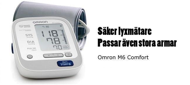 Blodtrycksmätare Omron M6 Comfort