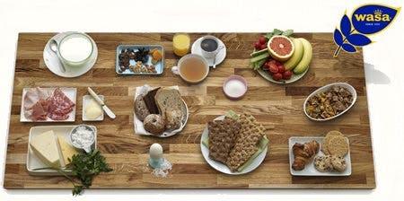Wasabröd till frukost