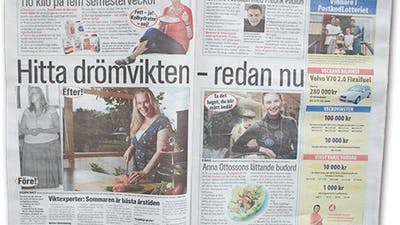 Aftonbladets förstasida: LCHF igen
