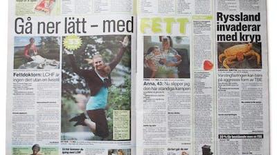 Aftonbladet: Gå ner lätt, med FETT