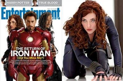 Scarlett Johansson i Iron Man 2