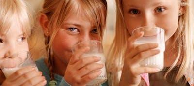 Mjölk och barn