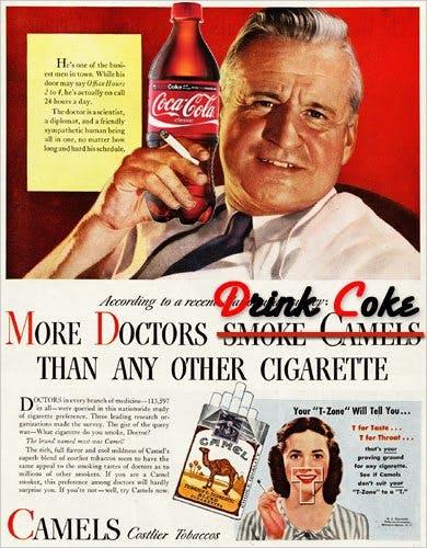 Coca-Cola köper läkare