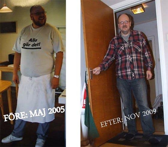 Tappade 47 kilo, snarkning, magbesvär och högt blodtryck