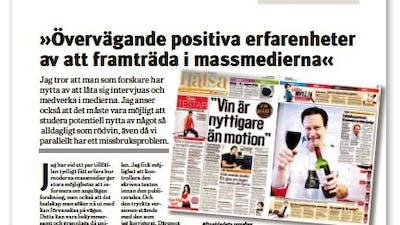 Fredrik Nyström i Läkartidningen