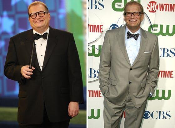 Hur Drew Carey tappade 40 kilo