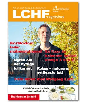 Kostdoktorn i LCHF-magasinet