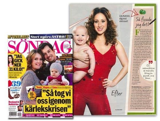 Åtta sidor LCHF i Aftonbladet söndag