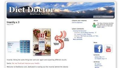 Kostdoktorn på engelska: DietDoctor.com