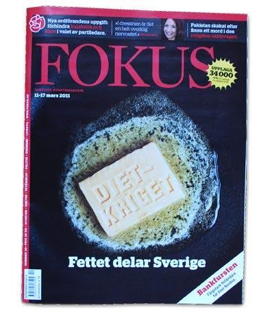 "Sex sidor om ""Dietkriget"" i Fokus"