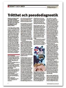 Scandlab får ytterligare kritik i Läkartidningen