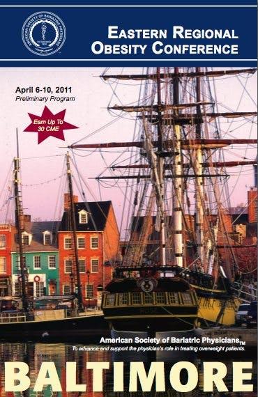 Till Baltimore på fetmakonferens