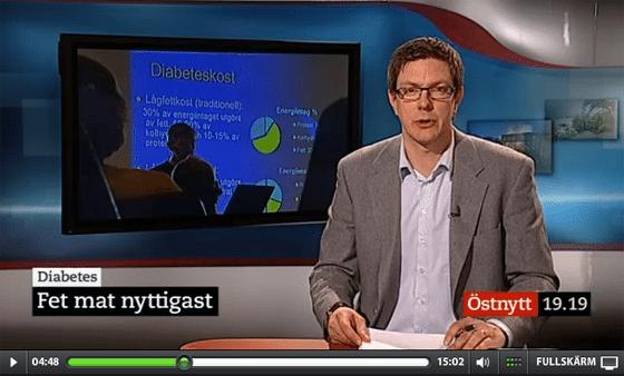Fet mat bäst för diabetiker i svensk studie!