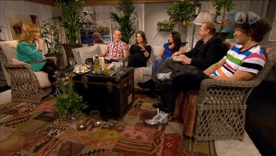 Ferry och Camilla Läckberg om LCHF i TV4