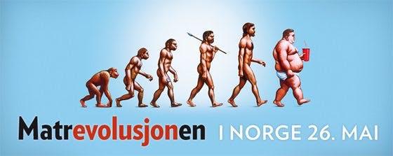 Matrevolusjonen når Norge 26 maj