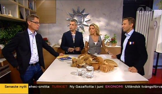 Bröd i Nyhetsmorgon