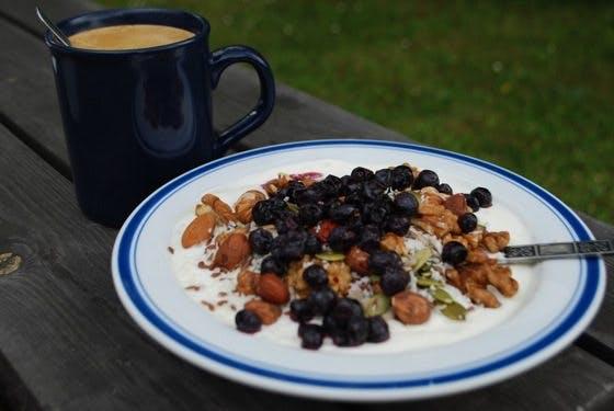 LCHF-Frukost