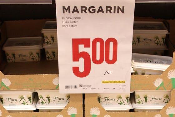 Margarin 5:-