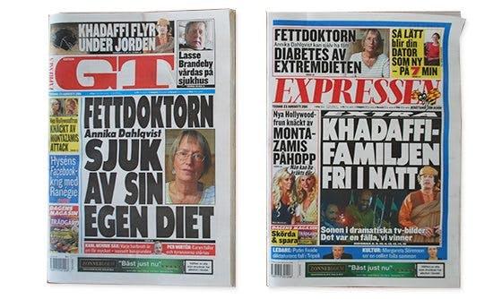 Har Annika Dahlqvist fått diabetes?