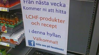 LCHF på ICA Supermarket
