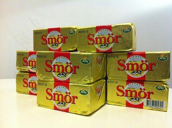 Vinn Sveriges sista smör