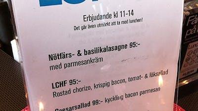 LCHF-lunch i Sundsvall