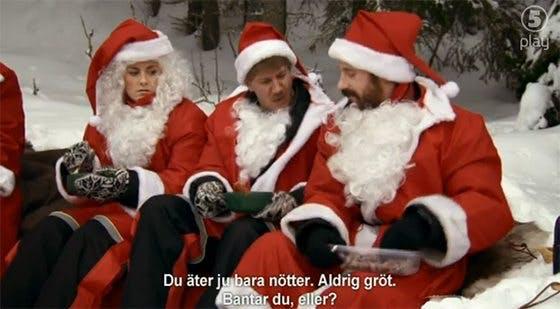 Norsk tomte äter inte gröt