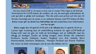 LCHF-kryssning till Åbo 21/4
