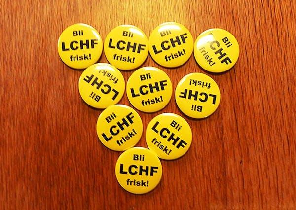 LCHF-badge 55mm