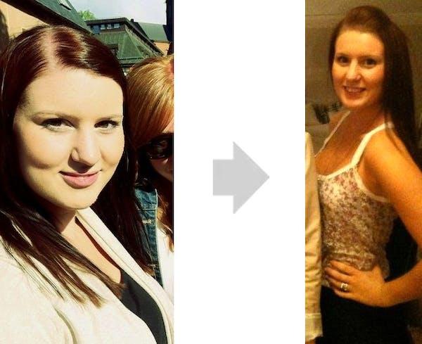 Sara före & efter
