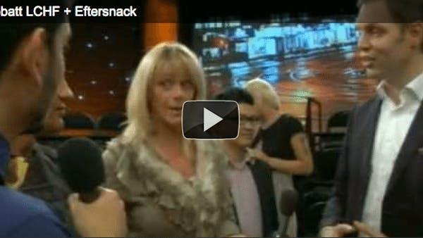 SVT Debatt + Eftersnack om LCHF nu på nätet