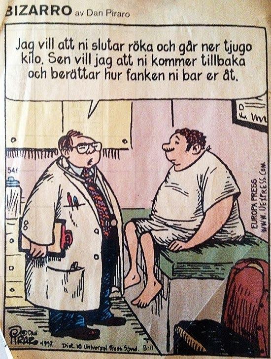 En ödmjuk läkare om fetmabehandling