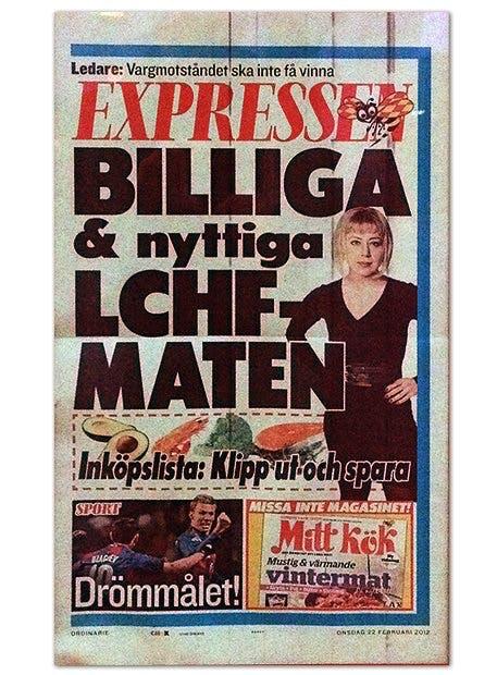 Expressen och Anna Bäsén