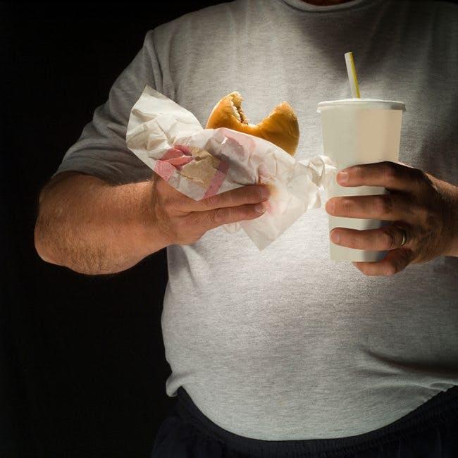 Lever ohälsosamma köttätare kortare liv?