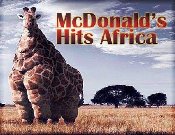 McDonalds i Afrika