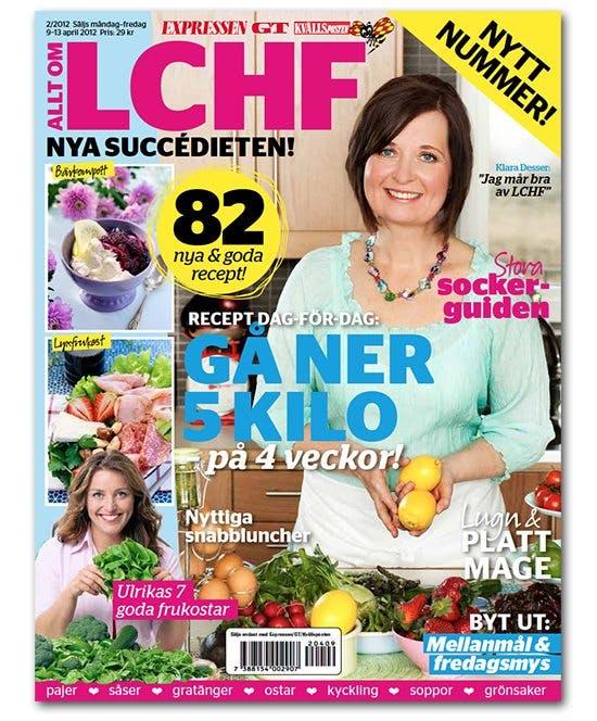 Expressens stora LCHF-bilaga återkommer