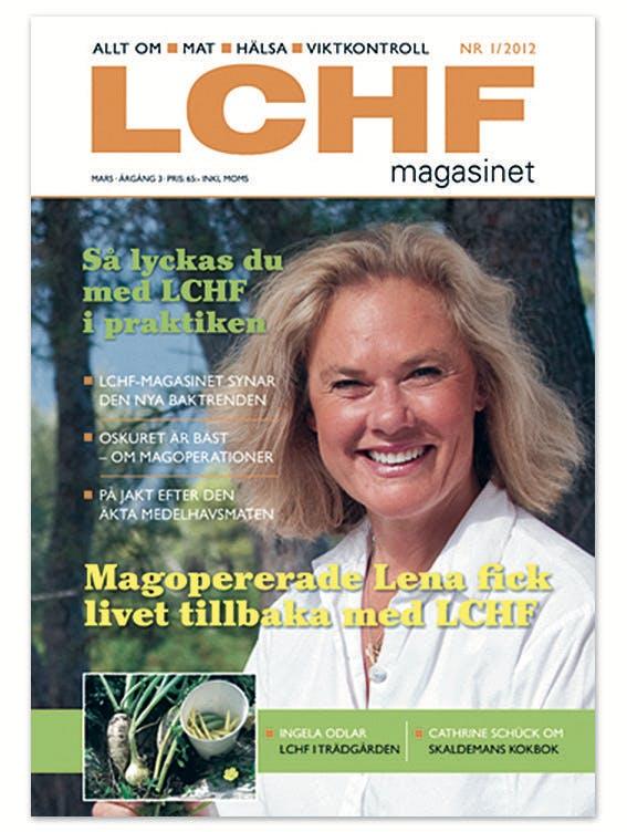 Årets första nummer av LCHF-magasinet