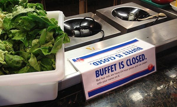 buffetclosed