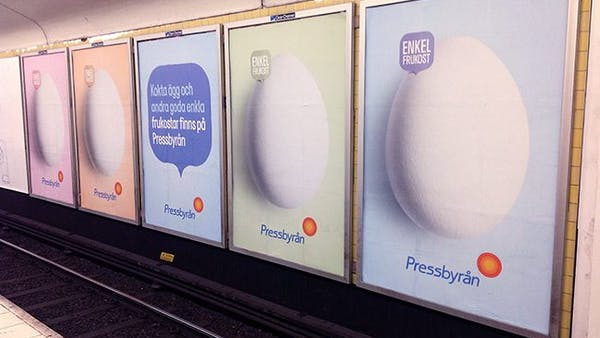 Matrevolution i Stockholms tunnelbana