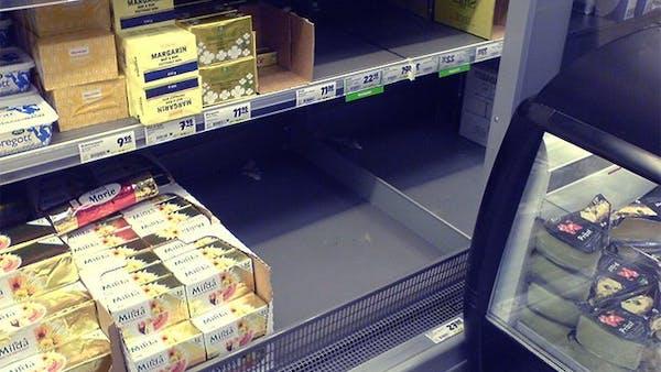 Svenskarna släpper fettskräcken
